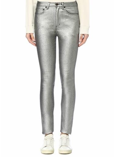 Saint Laurent Pantolon Gümüş
